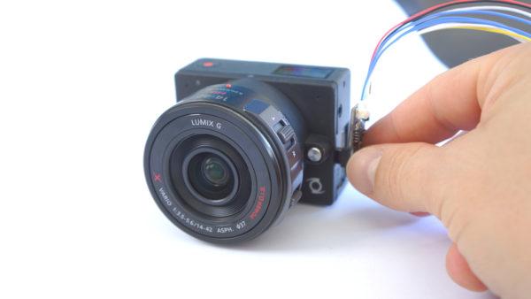 Z-Cam E1 control interface